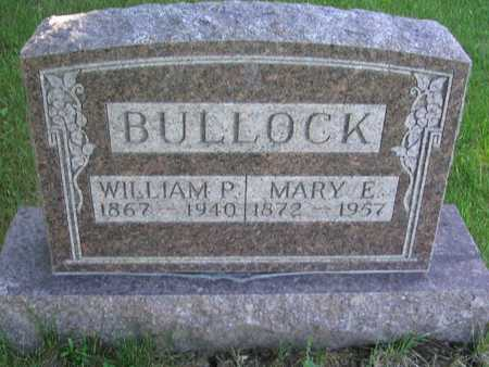 BULLOCK, WILLIAM P. - Union County, Iowa | WILLIAM P. BULLOCK