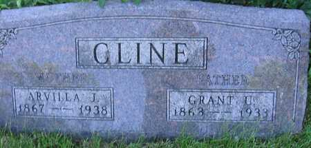 CLINE, GRANT V. - Union County, Iowa | GRANT V. CLINE