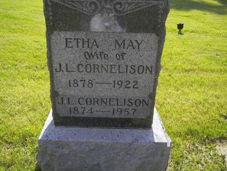CORNELISON, ETHA MAY - Union County, Iowa | ETHA MAY CORNELISON