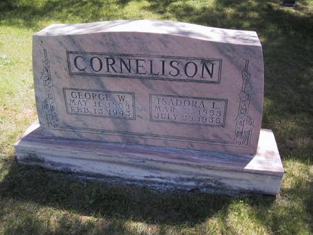 CORNELISON, ISADORA L. - Union County, Iowa | ISADORA L. CORNELISON