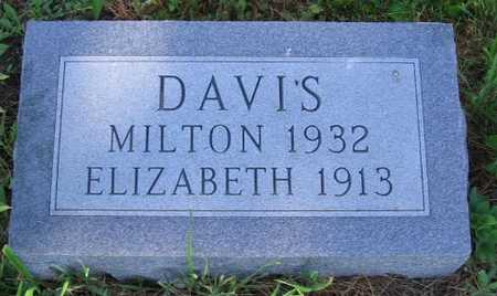 DAVIS, MILTON - Union County, Iowa | MILTON DAVIS