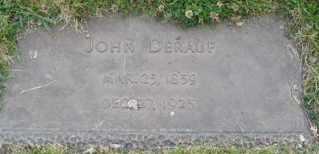 DERAUF, JOHN - Union County, Iowa | JOHN DERAUF