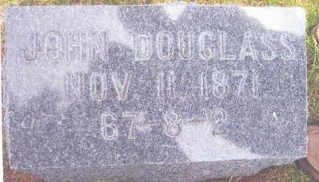 DOUGLASS, JOHN - Union County, Iowa   JOHN DOUGLASS