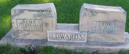 EDWARDS, ALMA - Union County, Iowa | ALMA EDWARDS