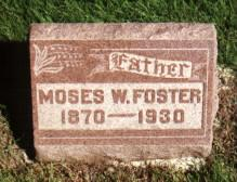 FOSTER, MOSES - Union County, Iowa | MOSES FOSTER