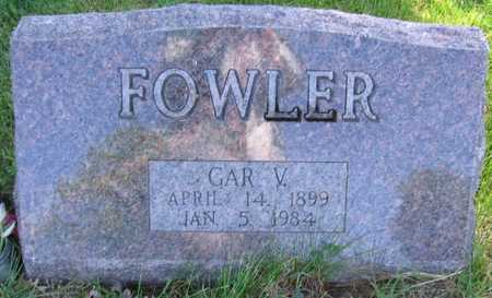 FOWLER, GAR V. - Union County, Iowa | GAR V. FOWLER
