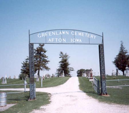 GREENLAWN, CEMETERY - Union County, Iowa | CEMETERY GREENLAWN