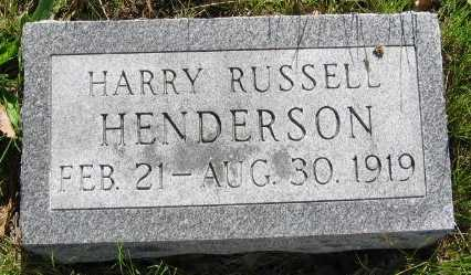 HENDERSON, HARRY RUSSELL - Union County, Iowa | HARRY RUSSELL HENDERSON