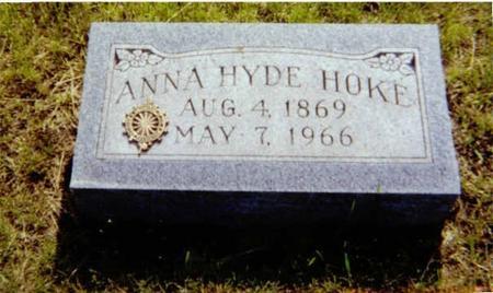 DUNLAP HOKE, ANNA - Union County, Iowa | ANNA DUNLAP HOKE