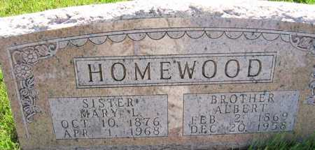 HOMEWOOD, MARY L. - Union County, Iowa | MARY L. HOMEWOOD