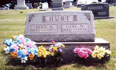 HURT, ANNIE M. - Union County, Iowa | ANNIE M. HURT