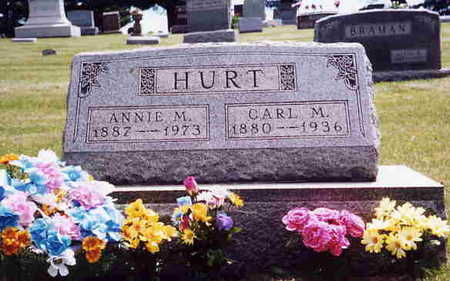 HURT, CARL M. - Union County, Iowa | CARL M. HURT