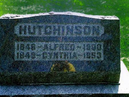 HUTCHINSON, ALFRED - Union County, Iowa | ALFRED HUTCHINSON
