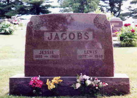 JACOBS, JESSIE - Union County, Iowa | JESSIE JACOBS