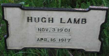 LAMB, HUGH - Union County, Iowa | HUGH LAMB