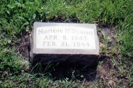 MCDOWELL, PATRICIA MARLENE - Union County, Iowa | PATRICIA MARLENE MCDOWELL