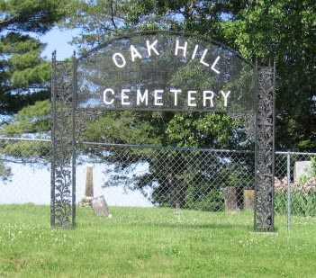 OAK HILL, CEMETERY - Union County, Iowa | CEMETERY OAK HILL