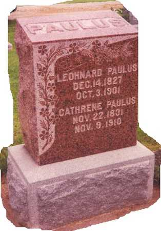 BRAUN PAULUS, CATHRENE - Union County, Iowa | CATHRENE BRAUN PAULUS