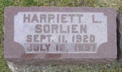 SORLIEN, HARRIETT L. - Union County, Iowa | HARRIETT L. SORLIEN