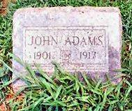 ADAMS, JOHN - Van Buren County, Iowa | JOHN ADAMS