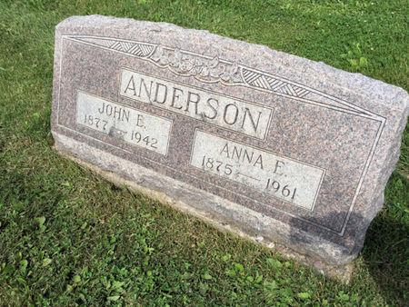 ANDERSON, ANNA E. - Van Buren County, Iowa | ANNA E. ANDERSON
