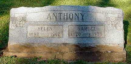 ANTHONY, SAMUEL - Van Buren County, Iowa | SAMUEL ANTHONY