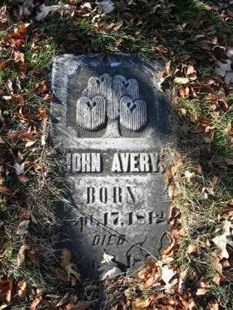 AVERY, JOHN - Van Buren County, Iowa | JOHN AVERY