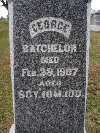 BATCHELOR, GEORGE - Van Buren County, Iowa | GEORGE BATCHELOR