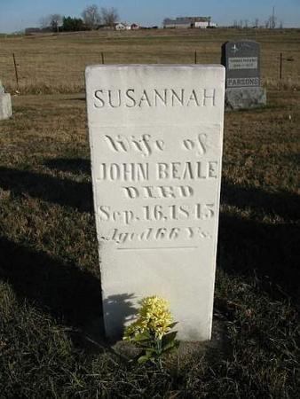 BEALE, SUSANNAH - Van Buren County, Iowa | SUSANNAH BEALE