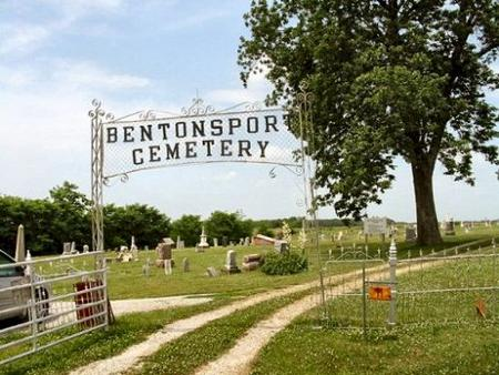 BENTONSPORT, CEMETERY - Van Buren County, Iowa | CEMETERY BENTONSPORT