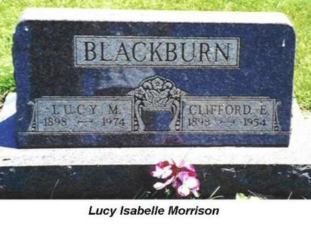 BLACKBURN, LUCY M., CLIFFORD E. - Van Buren County, Iowa | LUCY M., CLIFFORD E. BLACKBURN