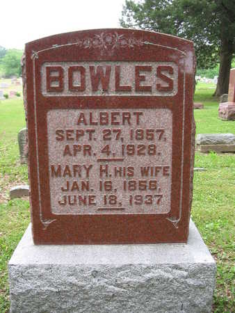 BOWLES, ALBERT - Van Buren County, Iowa | ALBERT BOWLES