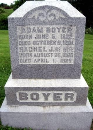 BOYER, RACHEL JANE - Van Buren County, Iowa | RACHEL JANE BOYER