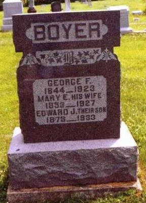 BOYER, MARY E. - Van Buren County, Iowa | MARY E. BOYER