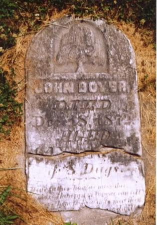 BOYER, JOHN - Van Buren County, Iowa | JOHN BOYER
