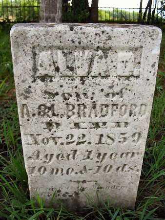 BRADFORD, ALVA O. - Van Buren County, Iowa | ALVA O. BRADFORD