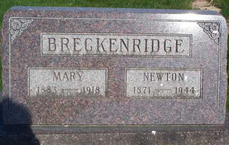 BRECKENRIDGE, MARY - Van Buren County, Iowa | MARY BRECKENRIDGE
