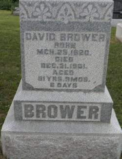 BROWER, DAVID - Van Buren County, Iowa | DAVID BROWER