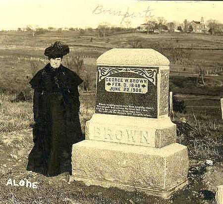 BROWN, GEORGE W. - Van Buren County, Iowa | GEORGE W. BROWN