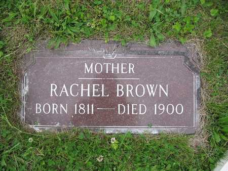 BROWN, RACHEL - Van Buren County, Iowa | RACHEL BROWN