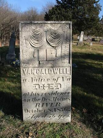 CALDWELL, VAN - Van Buren County, Iowa | VAN CALDWELL