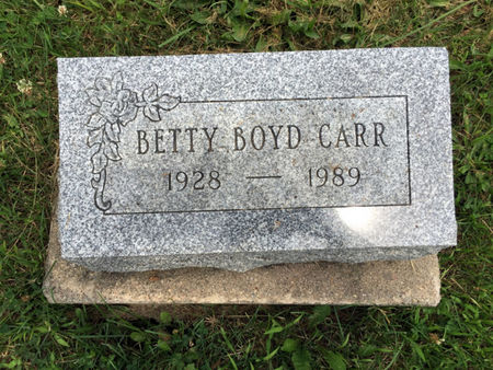 BOYD CARR, BETTY - Van Buren County, Iowa | BETTY BOYD CARR
