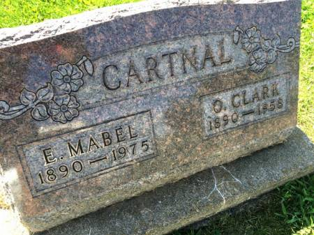 MITCHELL CARTNAL, E. MABEL - Van Buren County, Iowa | E. MABEL MITCHELL CARTNAL