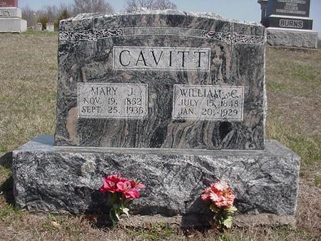 CAVITT, WILLIAM - Van Buren County, Iowa | WILLIAM CAVITT