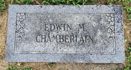 CHAMBERLAIN, EDWIN M. - Van Buren County, Iowa   EDWIN M. CHAMBERLAIN