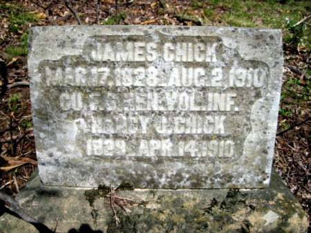 ??CHICK, JAMES - Van Buren County, Iowa | JAMES ??CHICK