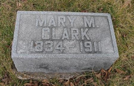 CLARK, MARY M. - Van Buren County, Iowa | MARY M. CLARK