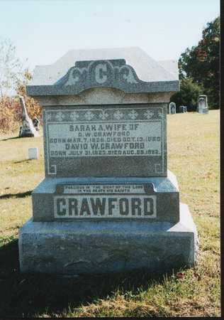 CRAWFORD, SARAH AMY - Van Buren County, Iowa | SARAH AMY CRAWFORD
