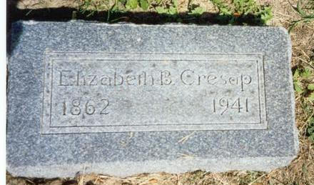 CRESAP, ELIZABETH B. - Van Buren County, Iowa | ELIZABETH B. CRESAP