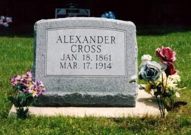 CROSS, ALEXANDER - Van Buren County, Iowa | ALEXANDER CROSS